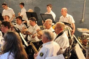 Cresona Band, and Junior Band perform, East End Playground, Tamaqua, 7-29-2015 (96)