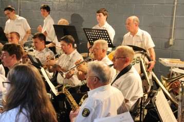 Cresona Band, and Junior Band perform, East End Playground, Tamaqua, 7-29-2015 (96)
