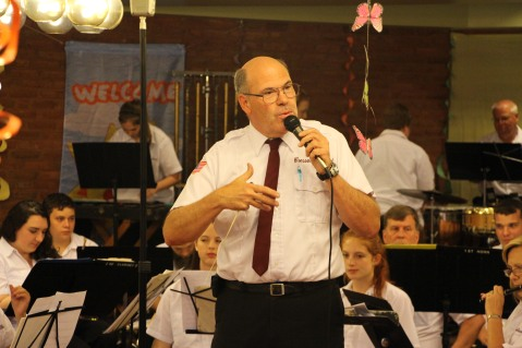 Cressona Band performs, Sheldon Shafer, Weatherwood, Weatherly, 7-27-2015 (1)
