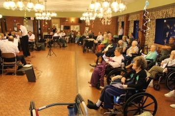 Cressona Band performs, Sheldon Shafer, Weatherwood, Weatherly, 7-27-2015 (105)