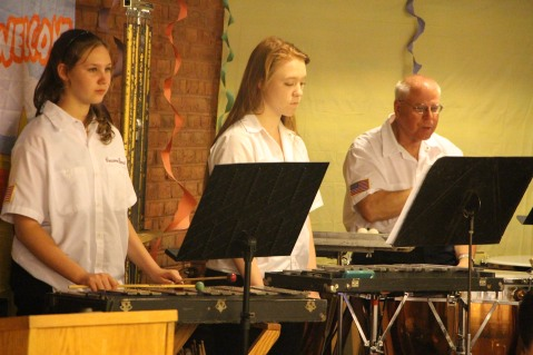 Cressona Band performs, Sheldon Shafer, Weatherwood, Weatherly, 7-27-2015 (106)