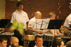 Cressona Band performs, Sheldon Shafer, Weatherwood, Weatherly, 7-27-2015 (107)