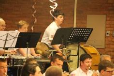 Cressona Band performs, Sheldon Shafer, Weatherwood, Weatherly, 7-27-2015 (108)