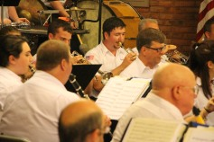 Cressona Band performs, Sheldon Shafer, Weatherwood, Weatherly, 7-27-2015 (109)
