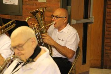 Cressona Band performs, Sheldon Shafer, Weatherwood, Weatherly, 7-27-2015 (11)