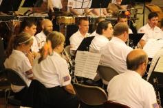 Cressona Band performs, Sheldon Shafer, Weatherwood, Weatherly, 7-27-2015 (110)
