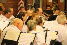 Cressona Band performs, Sheldon Shafer, Weatherwood, Weatherly, 7-27-2015 (111)