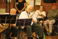 Cressona Band performs, Sheldon Shafer, Weatherwood, Weatherly, 7-27-2015 (112)