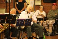 Cressona Band performs, Sheldon Shafer, Weatherwood, Weatherly, 7-27-2015 (112)
