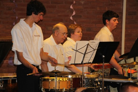Cressona Band performs, Sheldon Shafer, Weatherwood, Weatherly, 7-27-2015 (114)