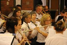 Cressona Band performs, Sheldon Shafer, Weatherwood, Weatherly, 7-27-2015 (119)