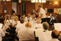 Cressona Band performs, Sheldon Shafer, Weatherwood, Weatherly, 7-27-2015 (121)