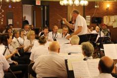 Cressona Band performs, Sheldon Shafer, Weatherwood, Weatherly, 7-27-2015 (121)