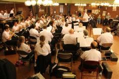 Cressona Band performs, Sheldon Shafer, Weatherwood, Weatherly, 7-27-2015 (126)