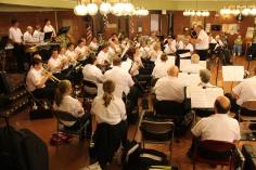 Cressona Band performs, Sheldon Shafer, Weatherwood, Weatherly, 7-27-2015 (128)