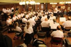 Cressona Band performs, Sheldon Shafer, Weatherwood, Weatherly, 7-27-2015 (135)