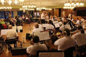 Cressona Band performs, Sheldon Shafer, Weatherwood, Weatherly, 7-27-2015 (139)