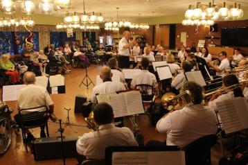 Cressona Band performs, Sheldon Shafer, Weatherwood, Weatherly, 7-27-2015 (139)