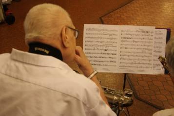Cressona Band performs, Sheldon Shafer, Weatherwood, Weatherly, 7-27-2015 (144)