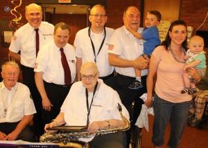 Cressona Band performs, Sheldon Shafer, Weatherwood, Weatherly, 7-27-2015 (155)