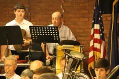 Cressona Band performs, Sheldon Shafer, Weatherwood, Weatherly, 7-27-2015 (17)