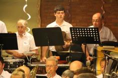 Cressona Band performs, Sheldon Shafer, Weatherwood, Weatherly, 7-27-2015 (18)