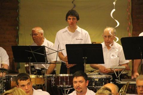 Cressona Band performs, Sheldon Shafer, Weatherwood, Weatherly, 7-27-2015 (20)