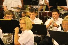 Cressona Band performs, Sheldon Shafer, Weatherwood, Weatherly, 7-27-2015 (24)