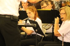 Cressona Band performs, Sheldon Shafer, Weatherwood, Weatherly, 7-27-2015 (25)