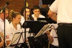 Cressona Band performs, Sheldon Shafer, Weatherwood, Weatherly, 7-27-2015 (26)