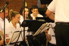 Cressona Band performs, Sheldon Shafer, Weatherwood, Weatherly, 7-27-2015 (26)