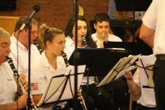 Cressona Band performs, Sheldon Shafer, Weatherwood, Weatherly, 7-27-2015 (27)