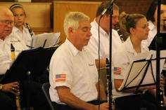 Cressona Band performs, Sheldon Shafer, Weatherwood, Weatherly, 7-27-2015 (29)