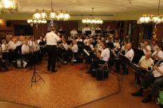 Cressona Band performs, Sheldon Shafer, Weatherwood, Weatherly, 7-27-2015 (3)