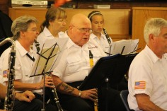 Cressona Band performs, Sheldon Shafer, Weatherwood, Weatherly, 7-27-2015 (30)