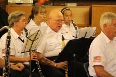 Cressona Band performs, Sheldon Shafer, Weatherwood, Weatherly, 7-27-2015 (30)