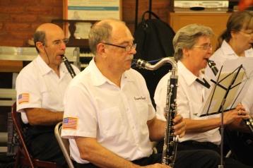 Cressona Band performs, Sheldon Shafer, Weatherwood, Weatherly, 7-27-2015 (32)