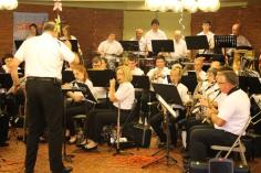 Cressona Band performs, Sheldon Shafer, Weatherwood, Weatherly, 7-27-2015 (35)