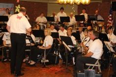 Cressona Band performs, Sheldon Shafer, Weatherwood, Weatherly, 7-27-2015 (36)