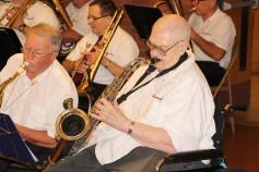 Cressona Band performs, Sheldon Shafer, Weatherwood, Weatherly, 7-27-2015 (37)