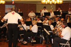 Cressona Band performs, Sheldon Shafer, Weatherwood, Weatherly, 7-27-2015 (38)