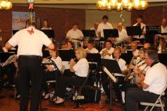 Cressona Band performs, Sheldon Shafer, Weatherwood, Weatherly, 7-27-2015 (38)