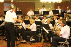 Cressona Band performs, Sheldon Shafer, Weatherwood, Weatherly, 7-27-2015 (39)