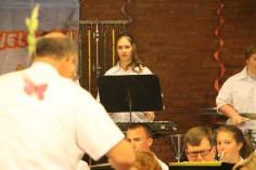 Cressona Band performs, Sheldon Shafer, Weatherwood, Weatherly, 7-27-2015 (46)