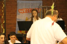 Cressona Band performs, Sheldon Shafer, Weatherwood, Weatherly, 7-27-2015 (47)