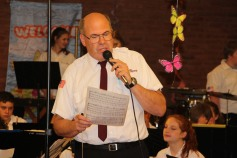 Cressona Band performs, Sheldon Shafer, Weatherwood, Weatherly, 7-27-2015 (48)