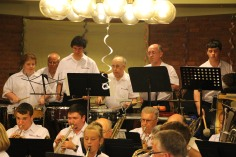 Cressona Band performs, Sheldon Shafer, Weatherwood, Weatherly, 7-27-2015 (54)