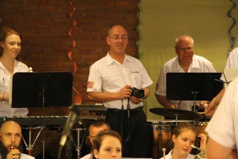 Cressona Band performs, Sheldon Shafer, Weatherwood, Weatherly, 7-27-2015 (55)