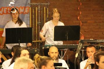 Cressona Band performs, Sheldon Shafer, Weatherwood, Weatherly, 7-27-2015 (56)