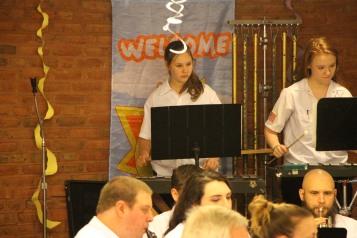 Cressona Band performs, Sheldon Shafer, Weatherwood, Weatherly, 7-27-2015 (57)